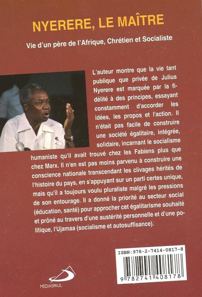 Nyerere retro libro in francese