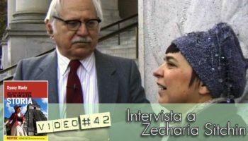 intervista di Syusy Blady a Zecharia Sitchin