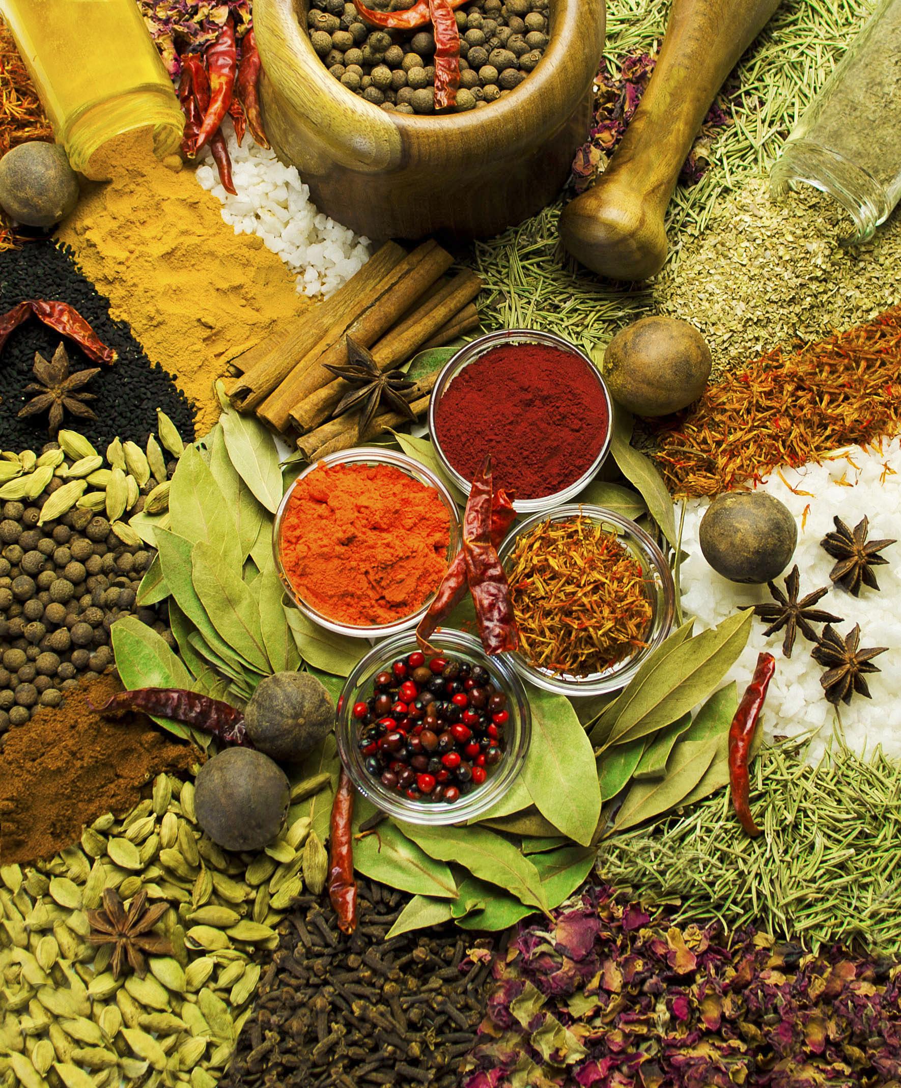 Spezie che passione! Benefici e ricette – Prima Parte