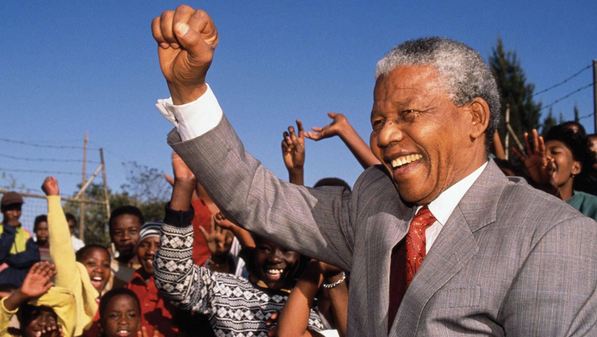 Nelson Mandela Presidente Sudafrica apartheid